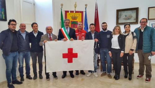 Consegna bandiera CRI 3