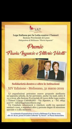 Premio Flavia Inguscio e Vittorio Velotti