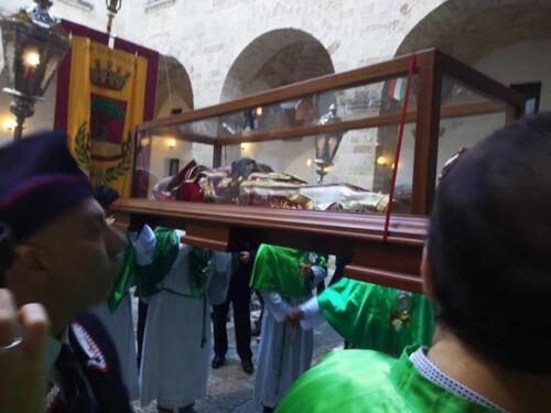 Ritorno in città delle spoglie del Patrono San Giovanni Elemonisiere