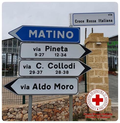 intitolazione via Croce Rossa Italiana 01
